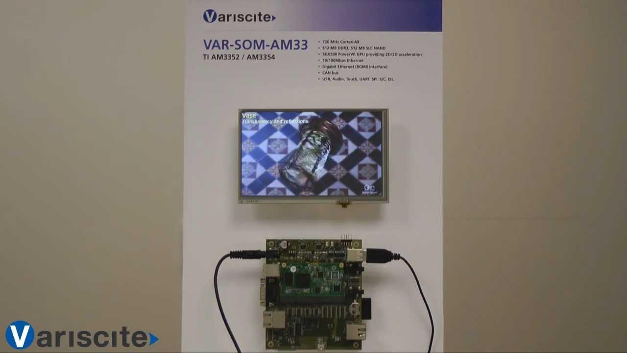 VAR-SOM-AM33 - TI AM335x (AM3354 , AM3352) - Running Linux