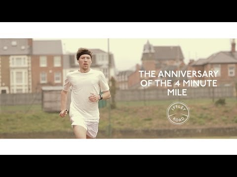 How history was made - the anniversary of Roger Bannister
