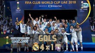 Gols - Real Madrid 4 x 1 Al Ain - Final Mundial de Clubes 2018