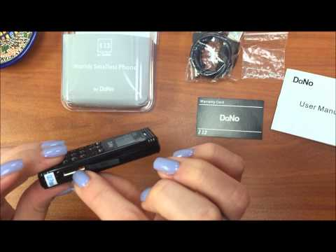 Unboxing of DaNo I12 - The Smallest Phone in the World