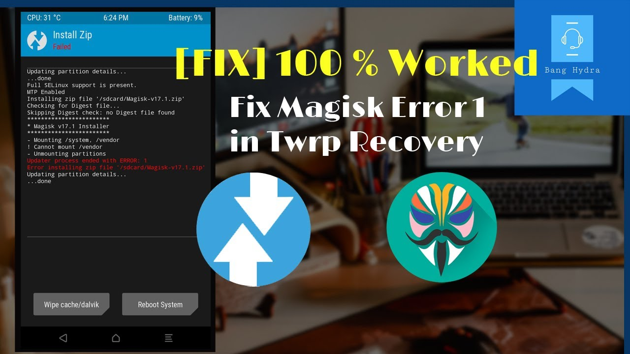 Fix error 1 magisk   Indonesia