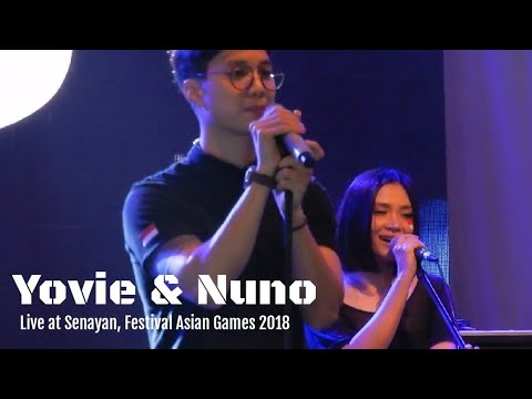 Yovie And Nuno - Menjaga Hati | Festival Asian Games 2018