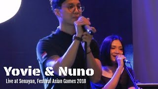 Yovie And Nuno Menjaga Hati Festival Asian Games 2018
