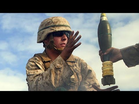 U.S. Army 81mm MORTAR in action/LIVE-FIRE! (Soldiers train on the Grafenwoehr MORTAR RANGE!)