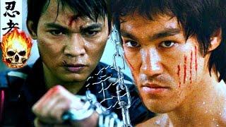 Video BRUCE LEE Versus TONY JAA! - ☯Muay Thai Boxing VS Jeet Kune Do Intercepting Fist | #1 Martial Arts download MP3, 3GP, MP4, WEBM, AVI, FLV Desember 2017