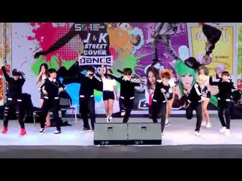 150523 JUST cover BTS - Beautiful + Attack On Bangtan + Boy In Luv @SIAM SQUARE1 J&K 2015 (Final)