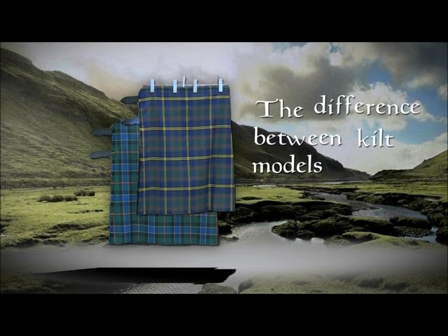 Differences between USA Kilts different models of kilts
