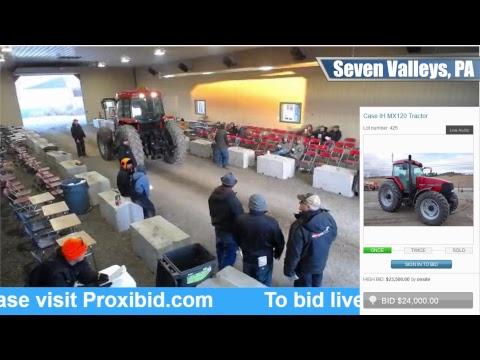 McGrew Equipment Auction Live Stream