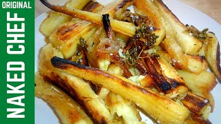 Christmas Roasted Parsnips How To Make With Honey & Tyme