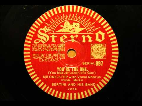 You're the one - Bertini and his Band