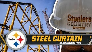 Steel Curtain is the New Tallest Roller Coaster in Pennsylvania | Pittsburgh Steelers