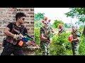 NERF WAR : Special Force Warriors SWAT Nerf Guns Fight Attack Criminal Group Mask Mafia