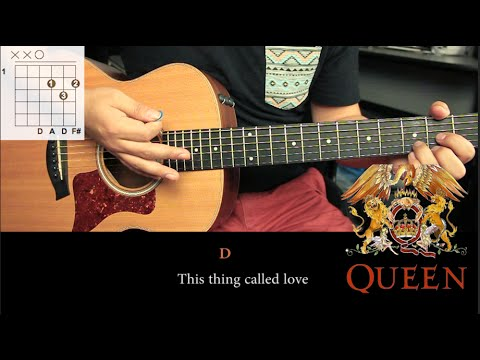 """How To Play """"Crazy Little Thing Called Love"""" By Queen - Guitar Lesson (HD)"""
