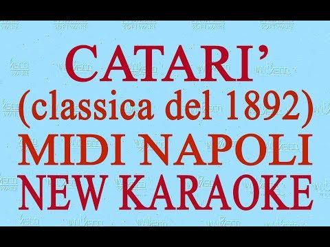 Catari' - midi Napoli - New Karaoke