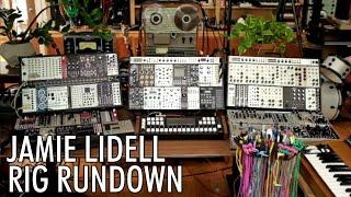 Jamie Lidell Eurorack Modular Set Up // RIG RUNDOWN #08