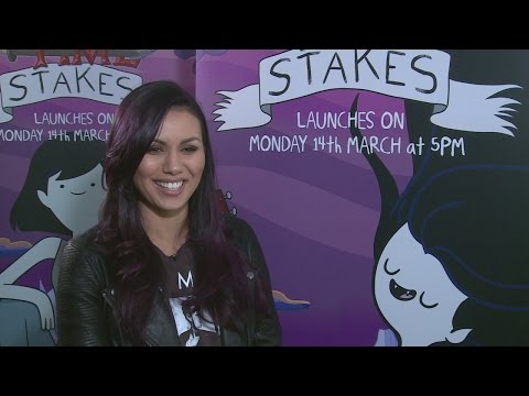 Olivia Olson talks Adventure Time Stakes, Love Actually and sings