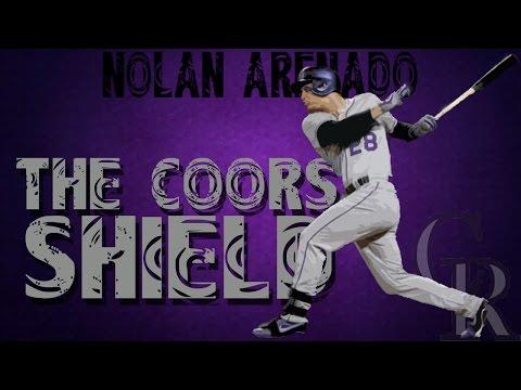 """Nolan Arenado - """"The Coors Shield"""" (HD)"""