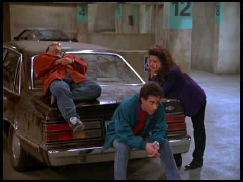 Seinfeld The Parking Garage Theatrical Trailer Spoof