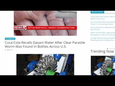 VERIFY: Did A Parasite Cause A Dasani Bottled Water Recall?