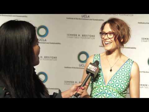 Scottie Thompson Talks Eco Friendly, riding Bike and the UCLA IOES
