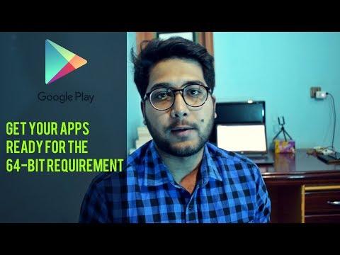 Android 64-bit Requirement | 32-bit Vs 64-bit Apps