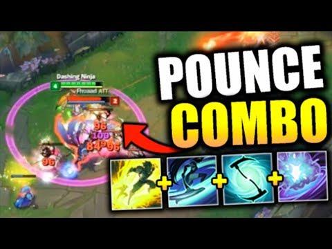 NEW BROKEN AKALI POUNCE ONE-SHOT COMBO! INSANELY FAST COMBO MECHANICS - League of Legends