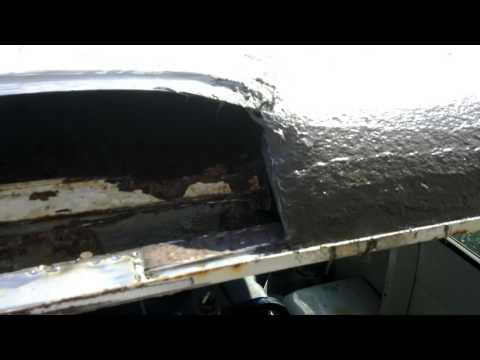 Cutting and welding metal on my Van Pt 2
