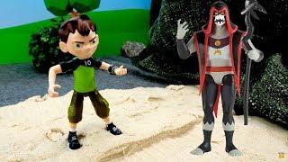 Бен 10 в видео с игрушками - Хекс спрятал трейлер супергероя!