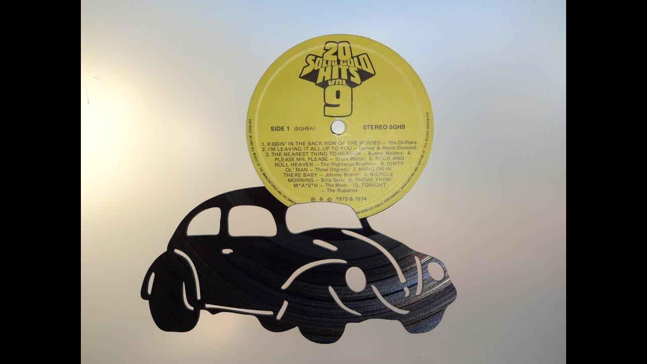 Vinyl Record Art by Cowan Creative - YouTube