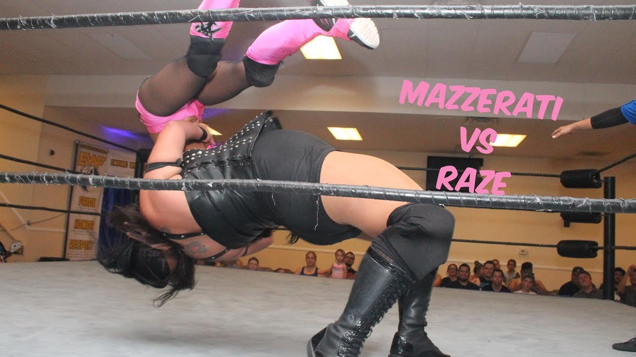 Women's Pro Wrestling Match - July 6, 2018 - Mazeratti vs Raze