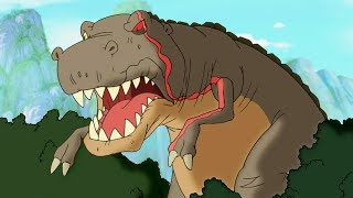The Land Before Time | The Meadow of Jumping Waters | Cartoons For Kids | Kids Movies