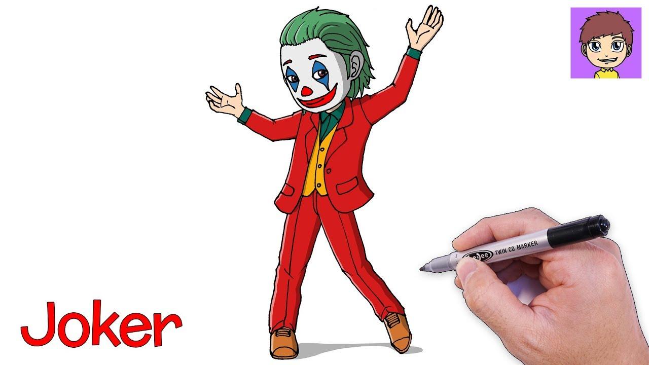 Como Dibujar Al Joker Paso A Paso Dibujos Para Dibujar Dibujos