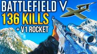 BATTLEFIELD 5 RECORD KILLS + V1 ROCKET Gameplay Closed Alpha Medic Gameplay