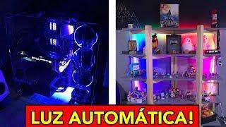 Quarto GAMER AUTOMÁTICO + PC NOVO TUNADO