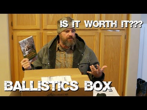Ballistics Box! My First Shipment - Is it Worth It?