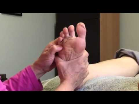 Allergies and Post Nasal Dripping Foot Reflexology Tip