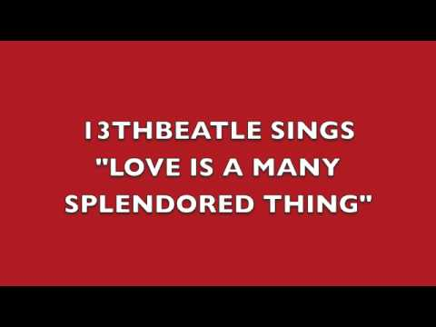 LOVE IS A MANY SPLENDORED THING-RINGO STARR COVER