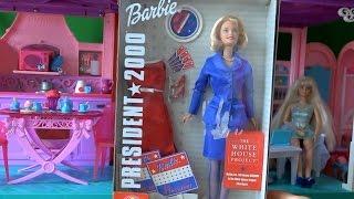 Распаковка, новая кукла Barbie, Барби в президенты новая героиня на канале Игрушки для детей