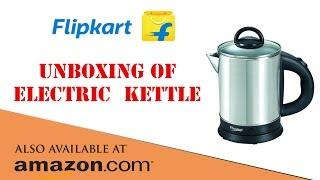 UNBOXING Prestige Electric Kettle