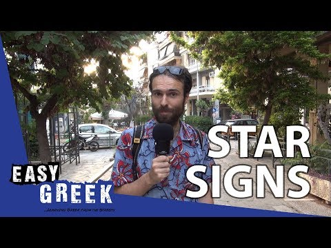 Star signs | Easy Greek 4