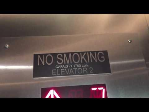Antique Llewellyn Mod. by ? Swing Door Elevator at Georgian Hotel in Santa Monica, CA