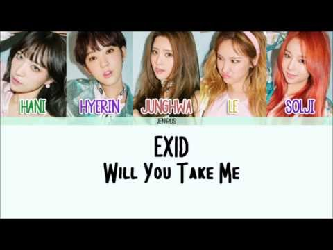 EXID - Will You Take Me (데려다줄래) [Eng/Rom/Han] Picture + Color Coded HD