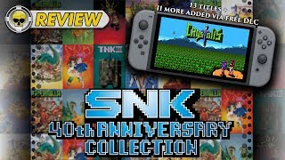 SNK 40th Anniversary Collection: REVIEW (Expanding Retro Catalog) (Video Game Video Review)