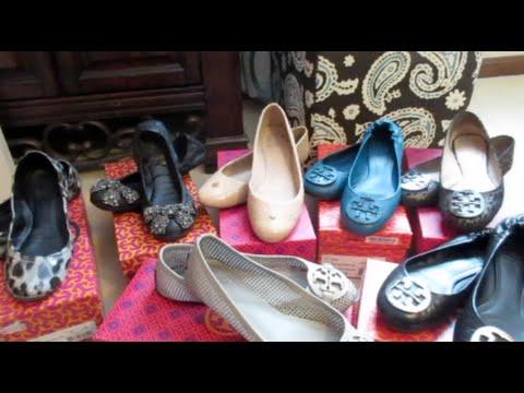 Tory Burch Shoe Collection! ♥ Revas, Eddies, Thora & more! | Bags4Bubbles