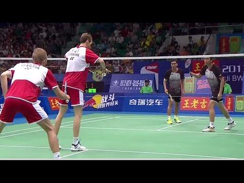 Finals - MD - M.Boe/C.Mogensen vs M.Ahsan/H.Setiawan - 2013国际羽联世界锦标赛