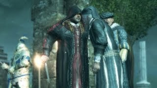 Rodrigo Borgia Kills Jacobo de Pazzi, Ezio Kills Emilio Barbarigo (Assassin's Creed 2 | Tuscany)