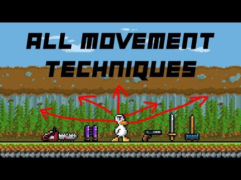 Duck Game: All Advanced Movement Techniques