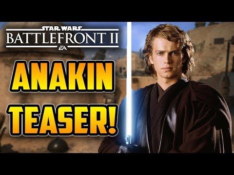 Young Skywalker! Anakin Skywalker TEASER CLIP! Star Wars Battlefront 2 thumbnail
