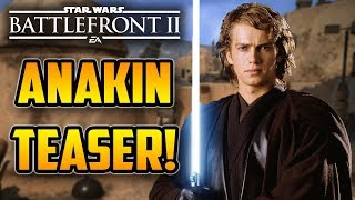 Young Skywalker! Anakin Skywalker TEASER CLIP! Star Wars Battlefront 2