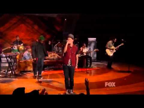 Bruno Mars performs The Lazy Song @ American Idol